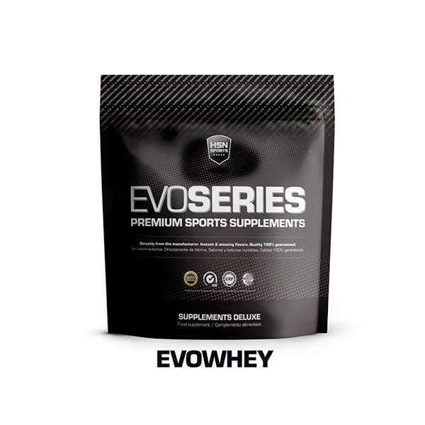 bolsa zip de producto evowhey protein de la marca hsn