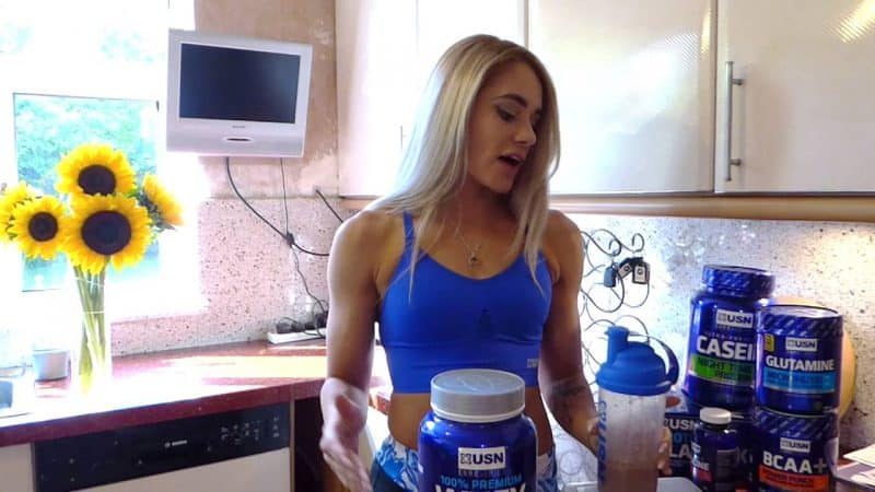 como preparar 100 premium whey protein de usn