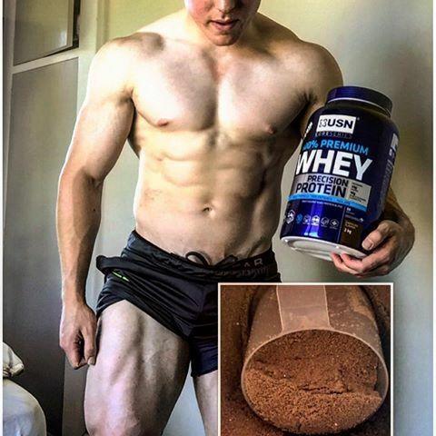 funcion de 100% premium whey protein de usn