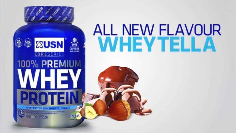 ingredientes de 100% premium whey protein de usn