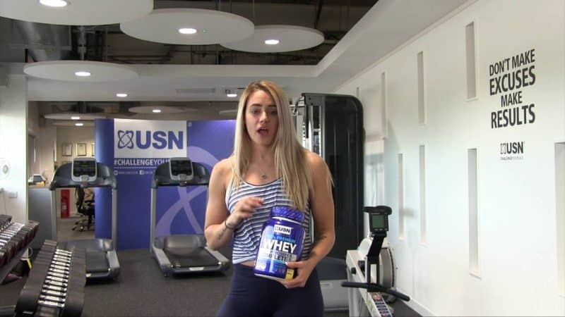 opiniones del 100% premium whey protein de usn