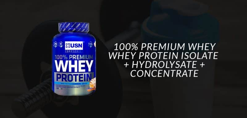 que es 100 premium whey protein de usn